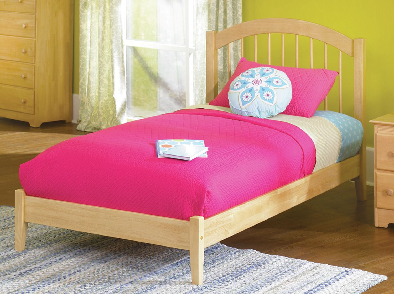 Chaplin Platform Bed Color: Natural, Size: Full
