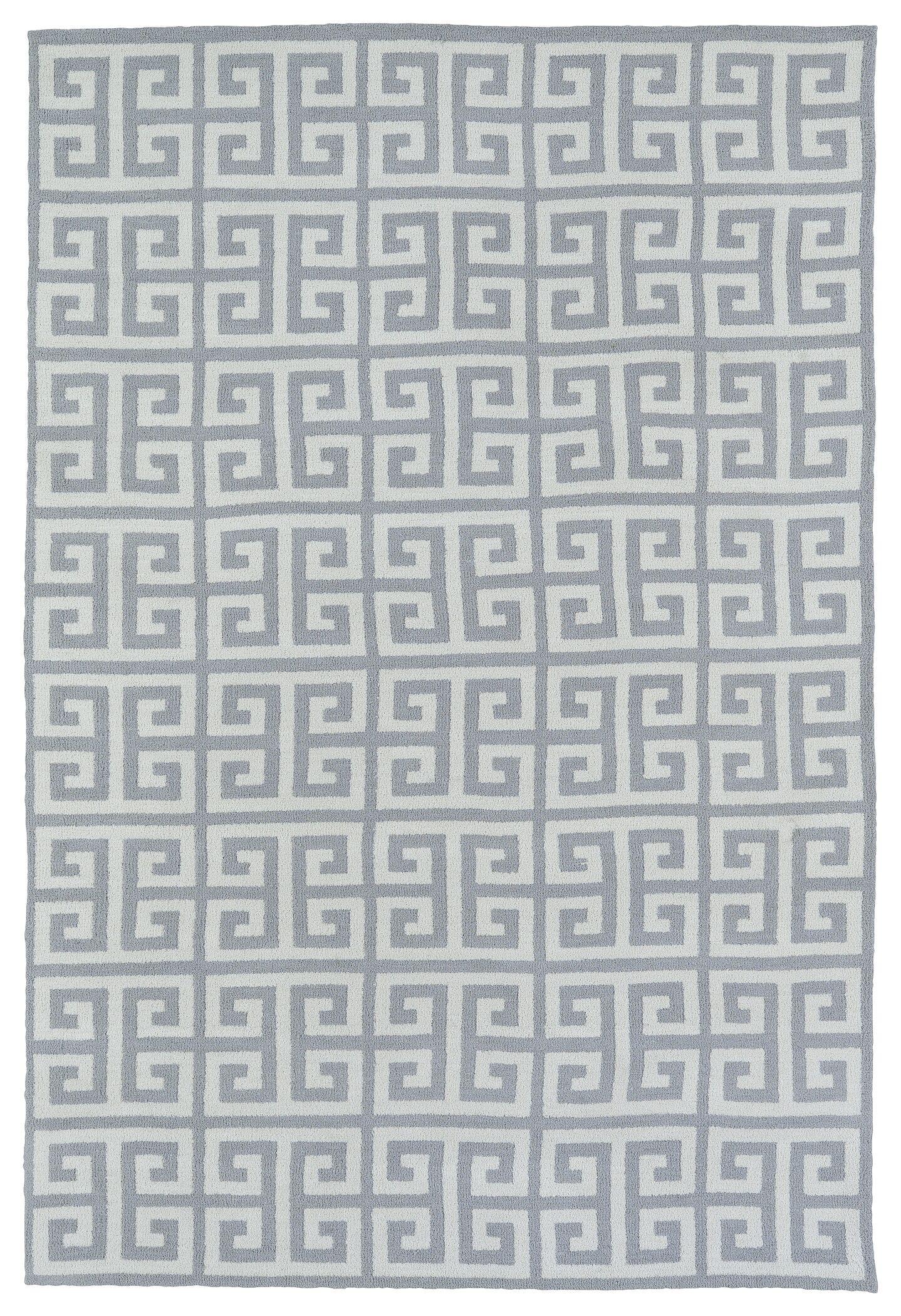 Aaron Gray Area Rug Rug Size: Rectangle 3' x 5'