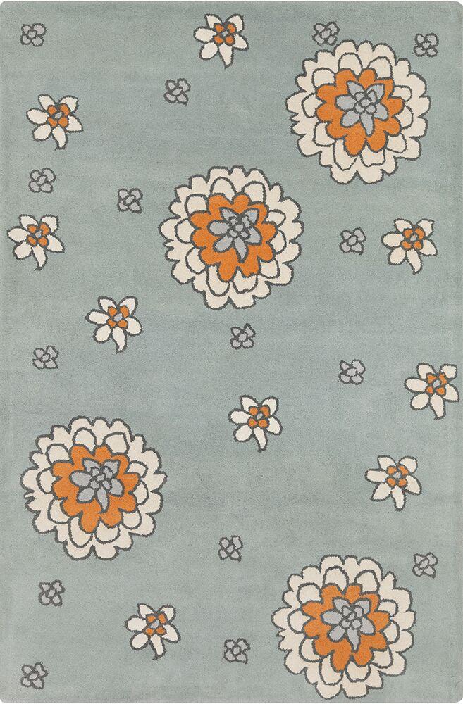 Roberto Hand Tufted Wool Cream/Gray Area Rug Rug Size: 8' x 10'