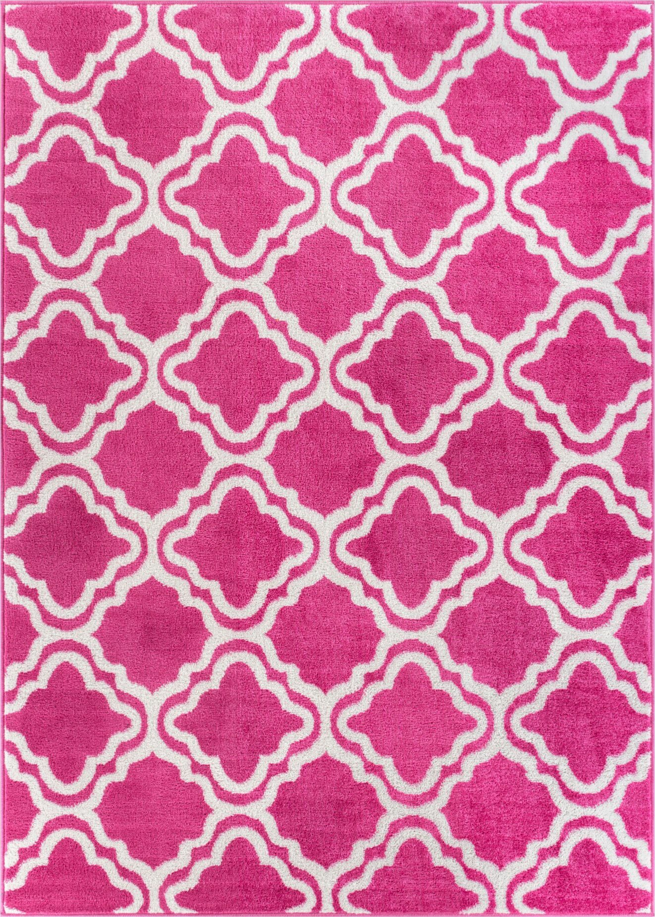 Juliet Calipso Pink Area Rug Rug Size: 5' x 7'
