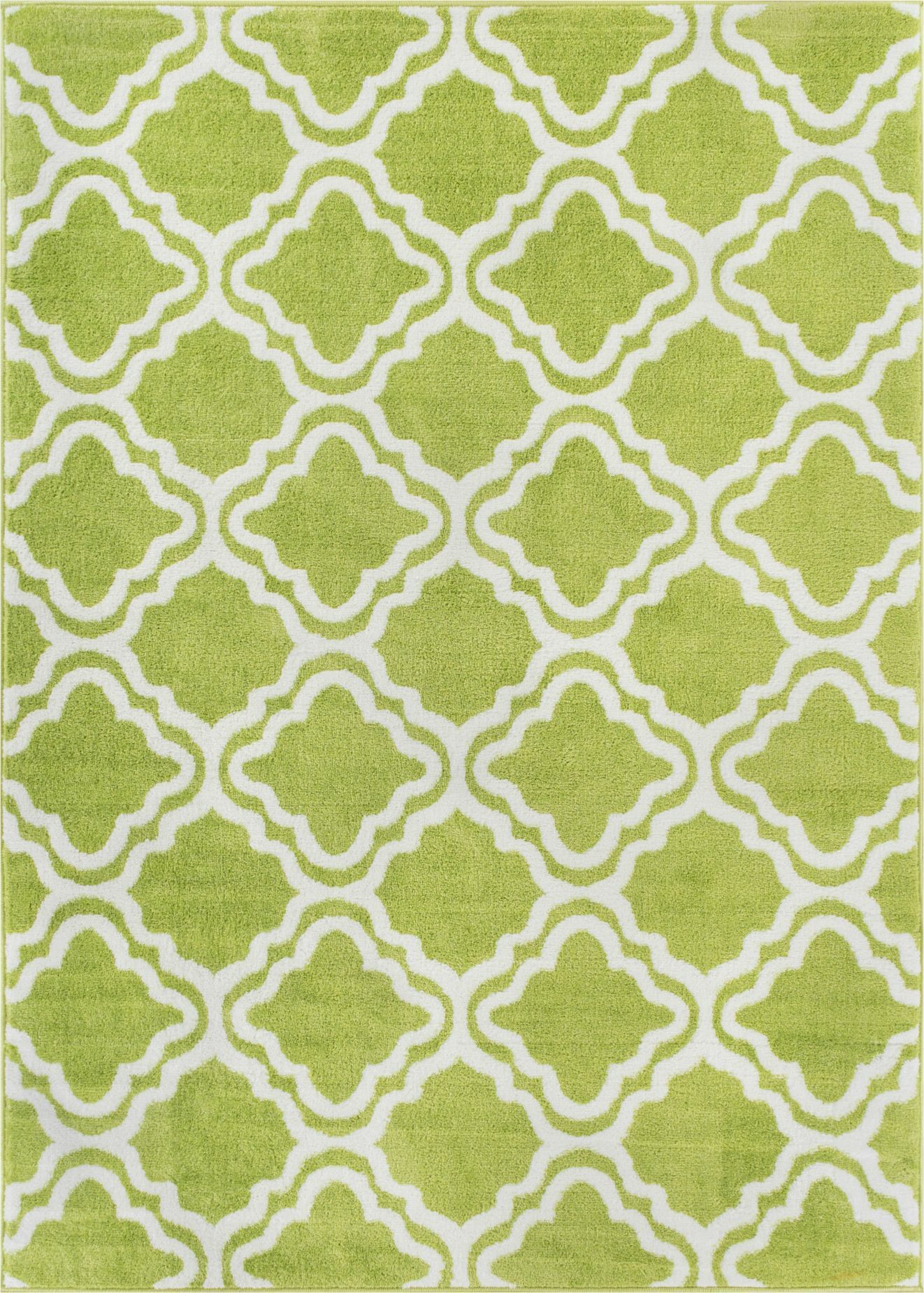 Juliet Calipso Lime Green Area Rug Rug Size: 5' x 7'