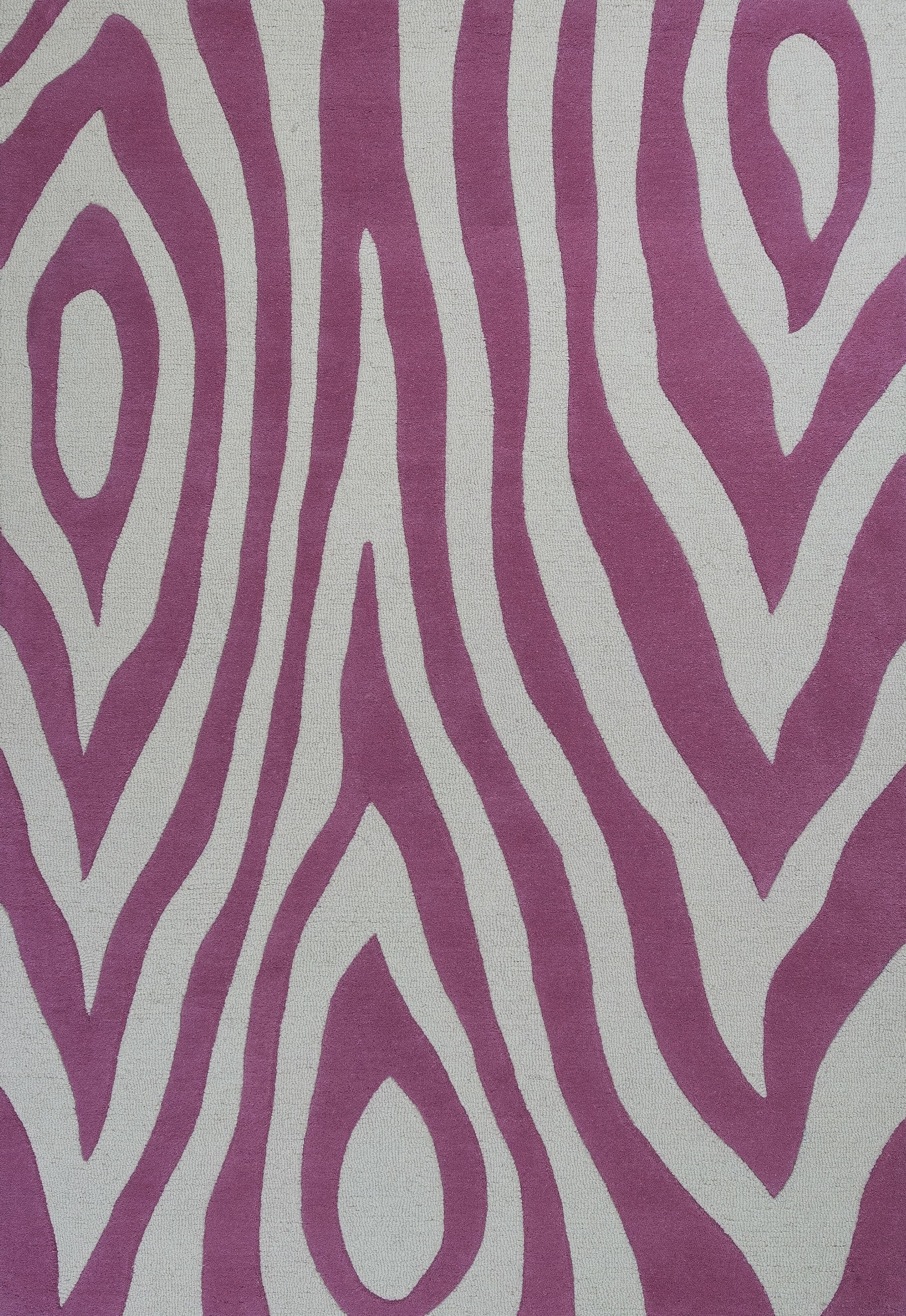 Shari Pink Wild Side Area Rug Rug Size: Rectangle 7'6
