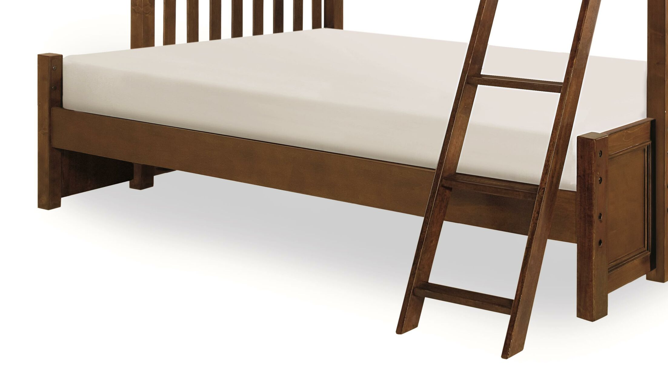 Hannah Bunk Bed Extension Color: Molassess