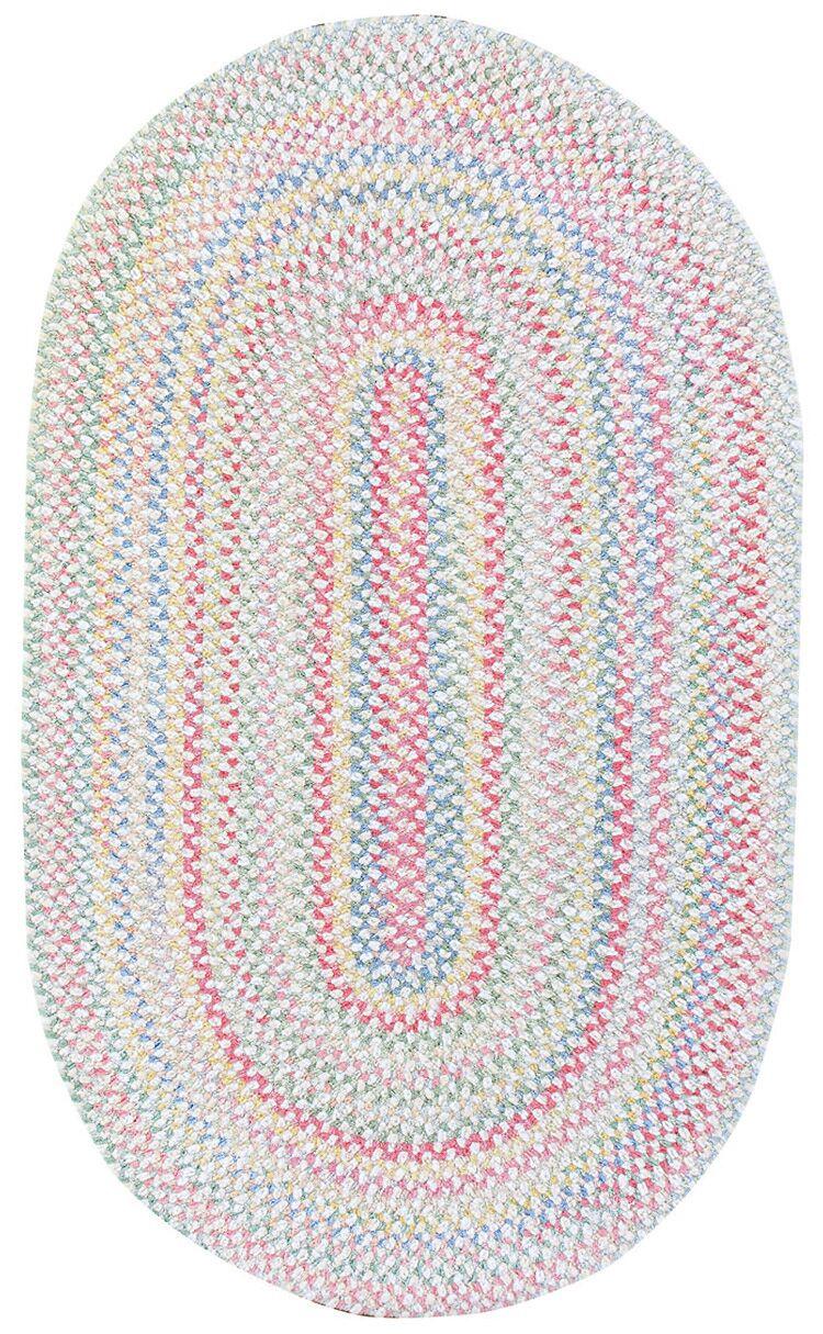 Melanie Kids Area Rug Rug Size: Oval 3' x 5'