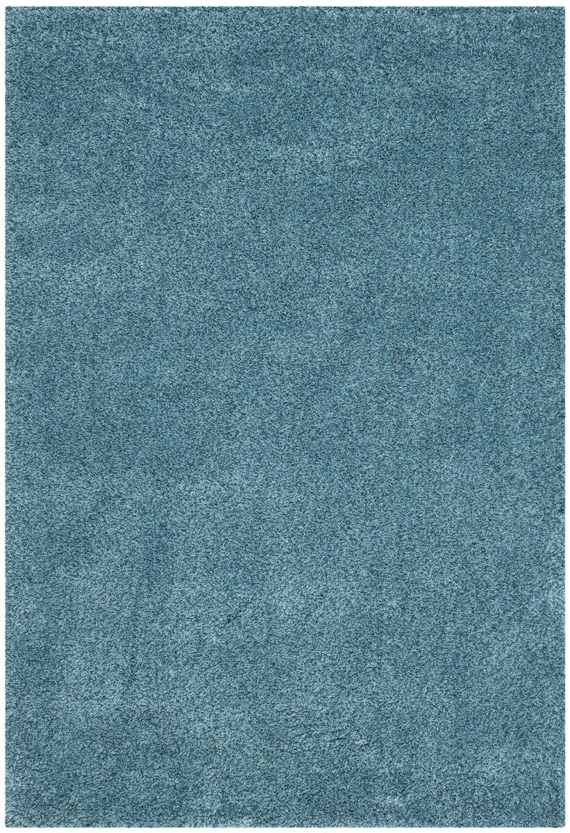 Ariel Light Blue Area Rug Rug Size: Rectangle 5'3