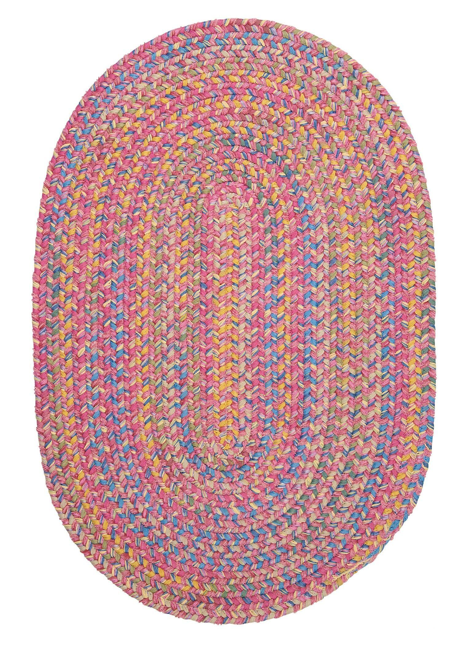 Oliver Reversible Area Rug Rug Size: Round 12'
