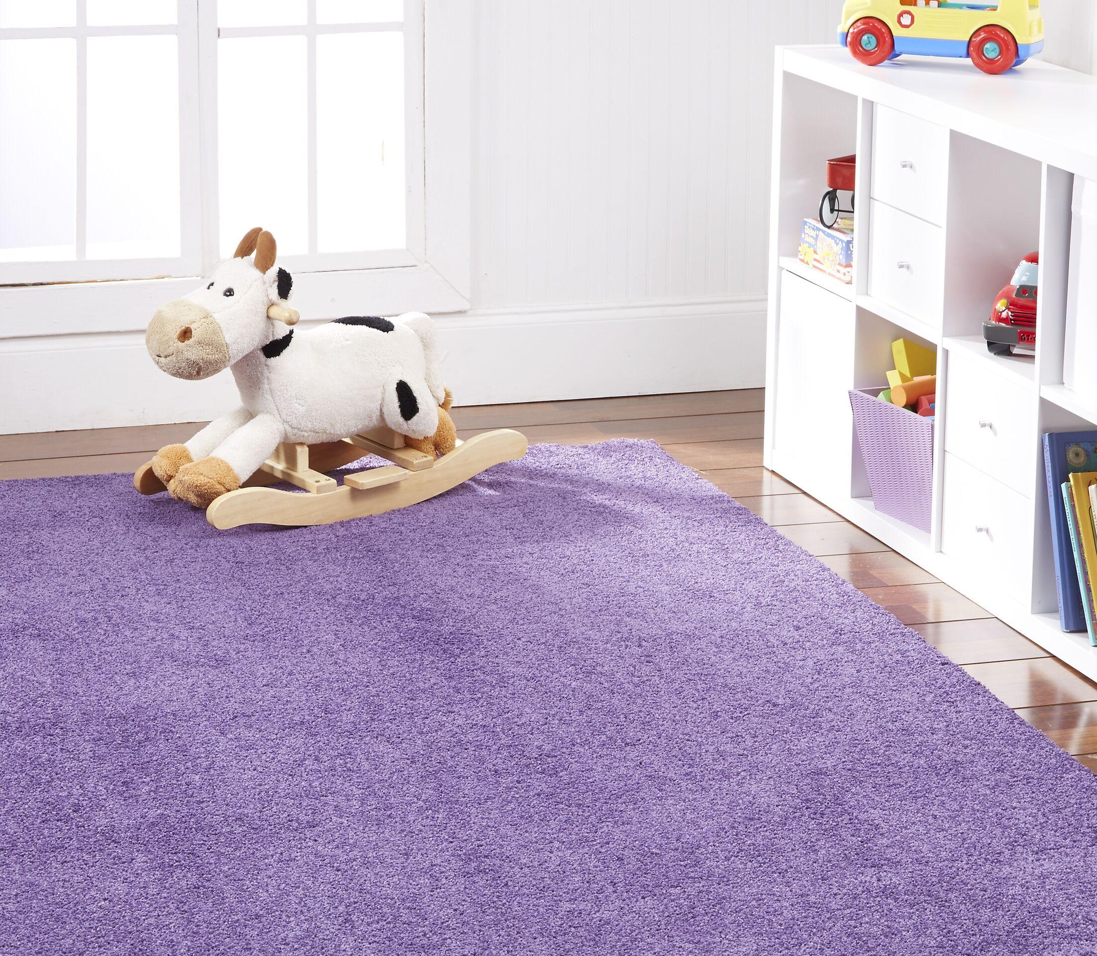 Anika Purple Area Rug Rug Size: Rectangle 6' x 9'