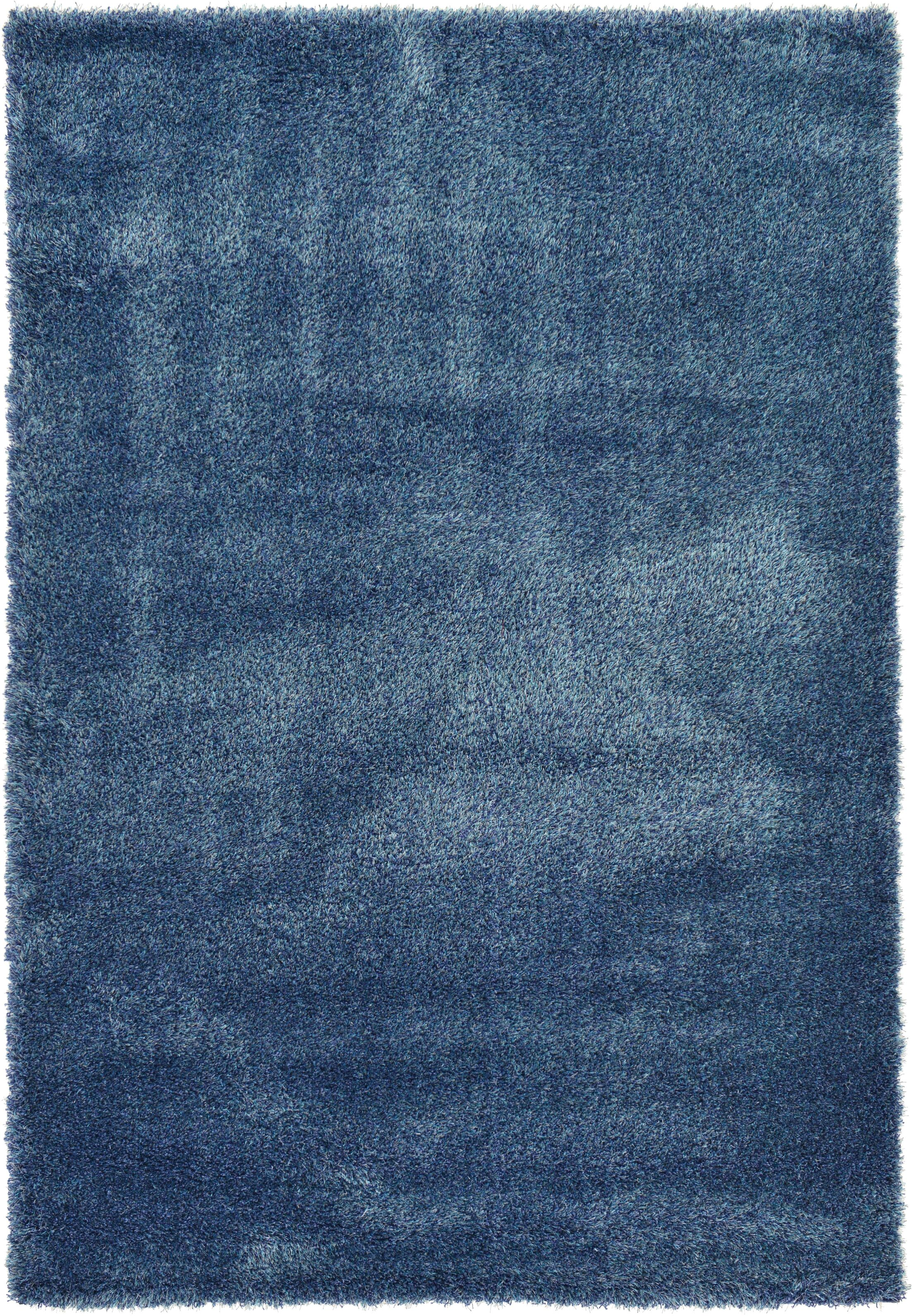 Evelyn Navy Blue Area Rug Rug Size: Rectangle 6' x 9'