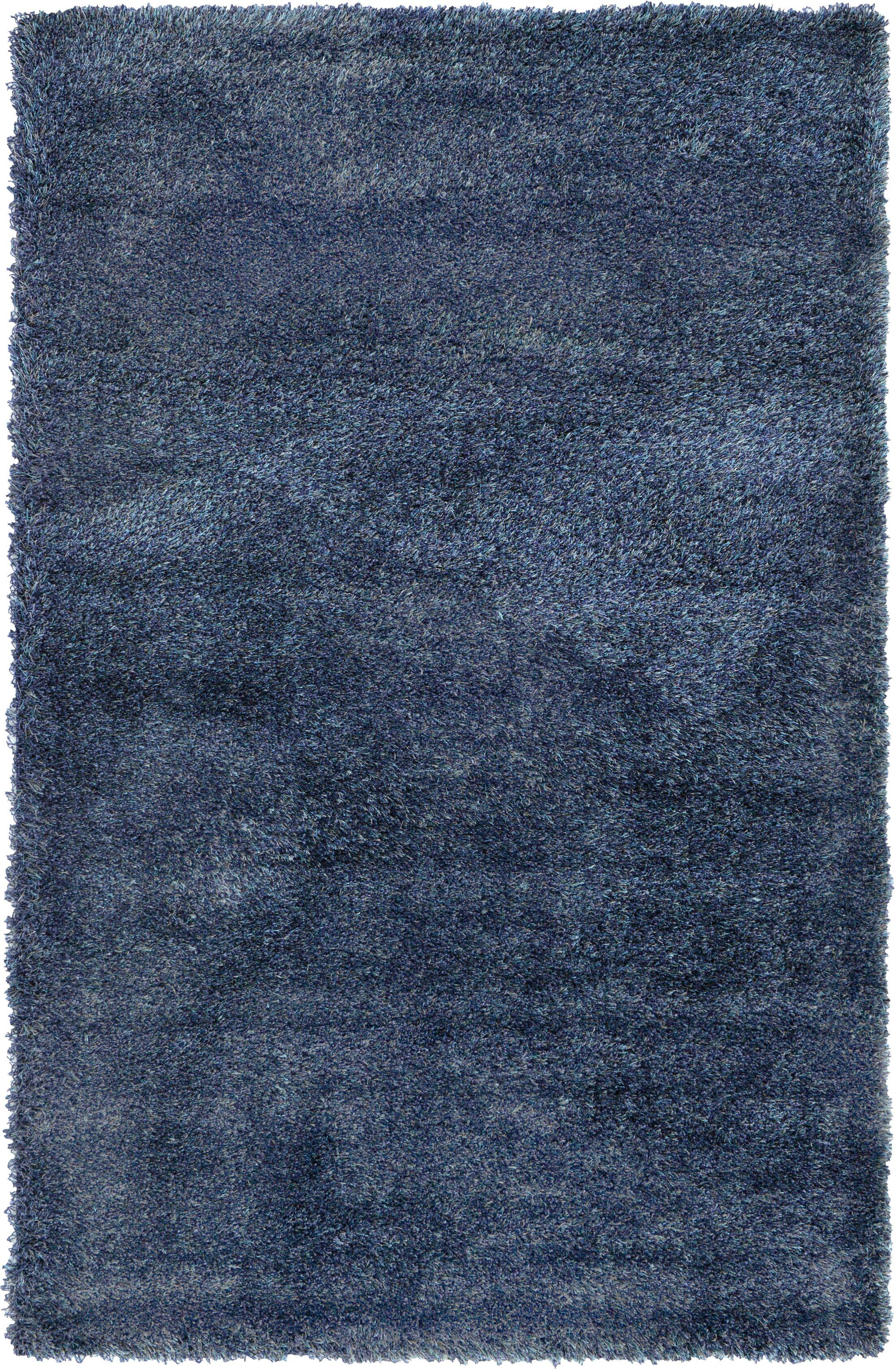 Evelyn Navy Blue Area Rug Rug Size: Rectangle 5' x 8'