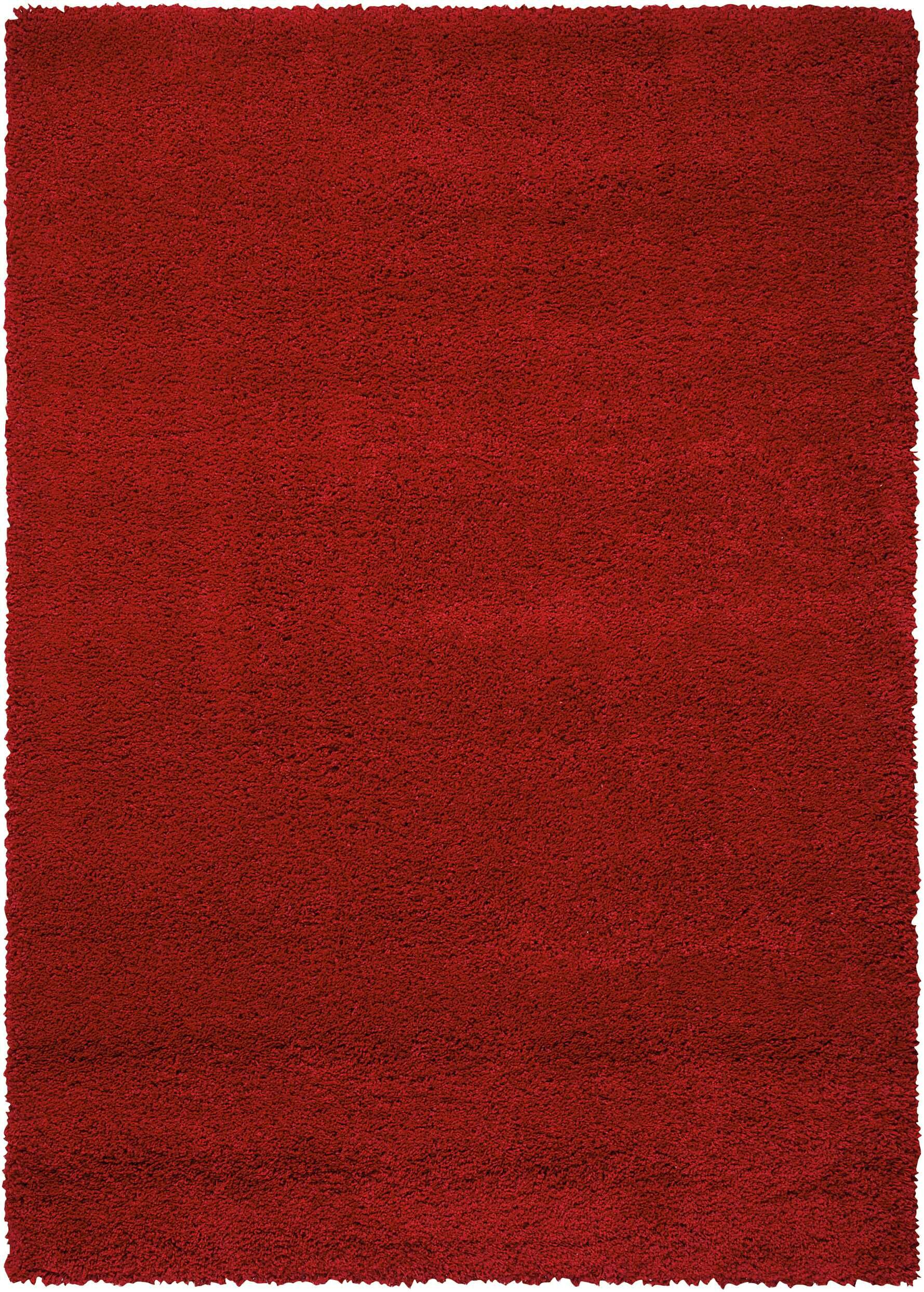 Shelley Red Area Rug Rug Size: Rectangle 5'3
