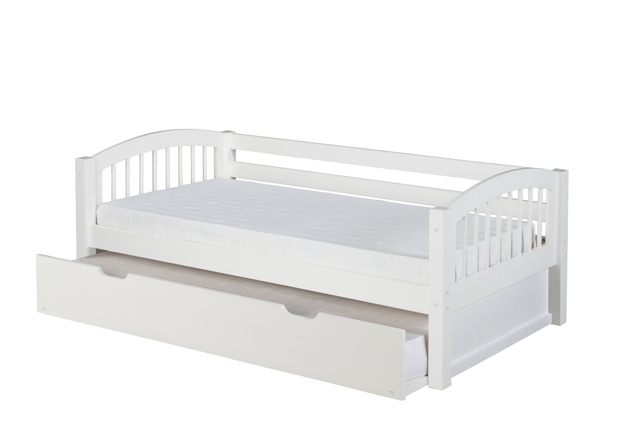 Isabelle Cameron Daybed with Trundle Color: White