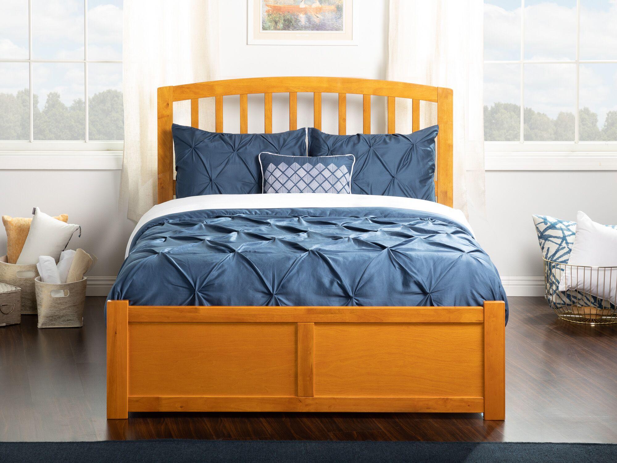 Wrington Storage Platform Bed Color: Caramel Latte, Size: Full
