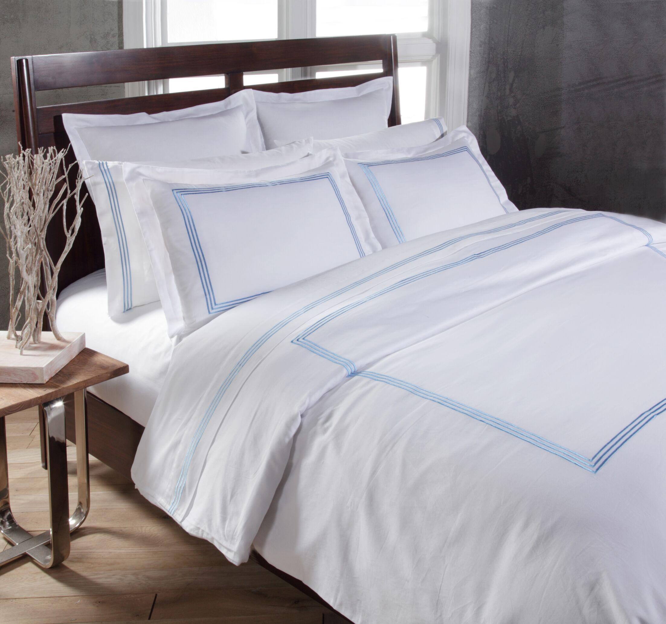 Stowe Sheet Set Color: Blue, Size: King