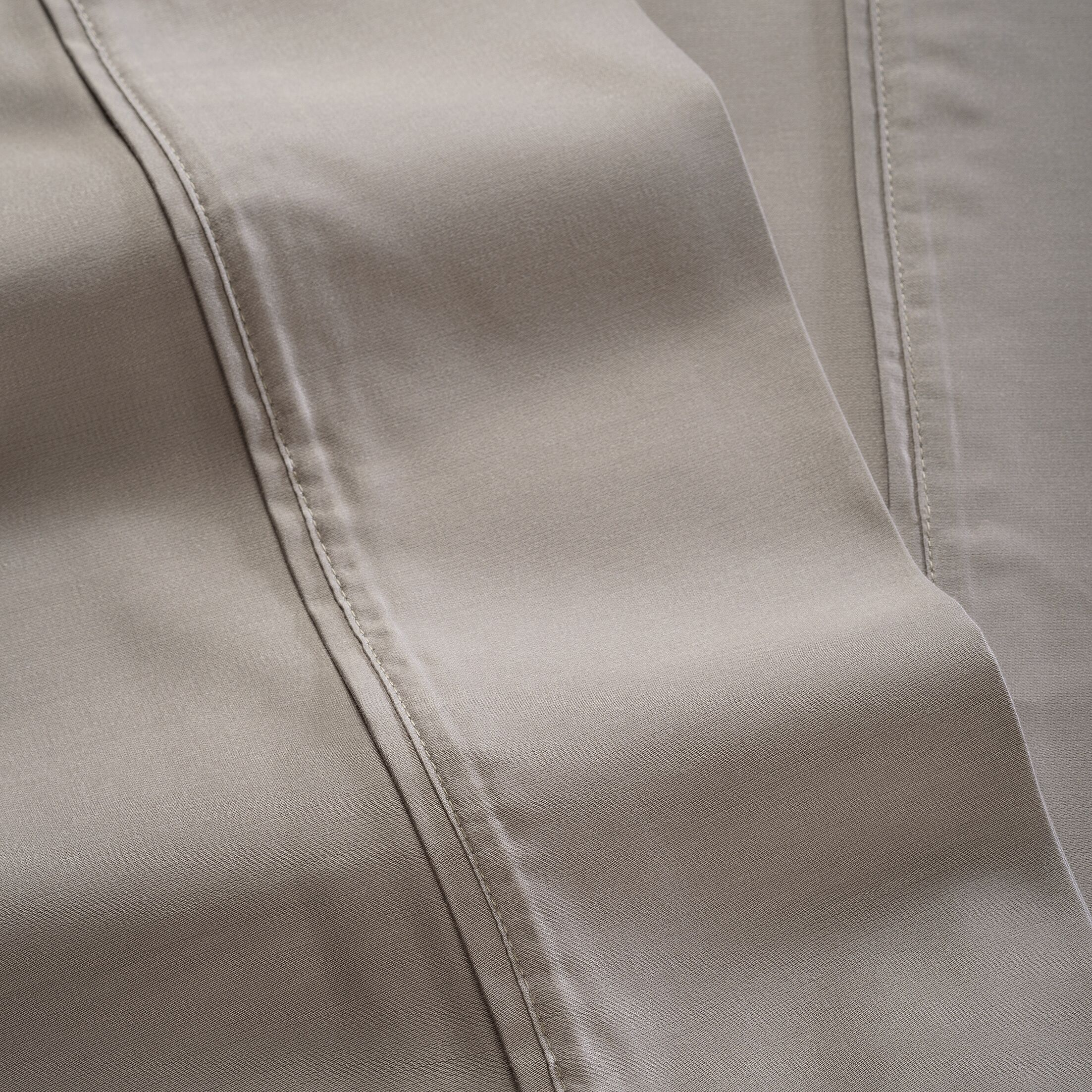 600 Thread Count 100% Tencel Sheet Set Color: Gray, Size: Full