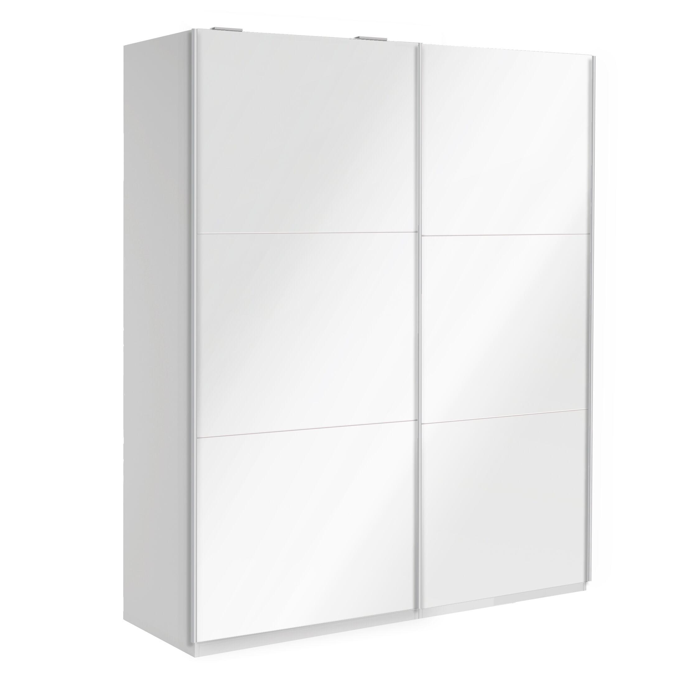 Optimeo Armoire Color: White Gloss