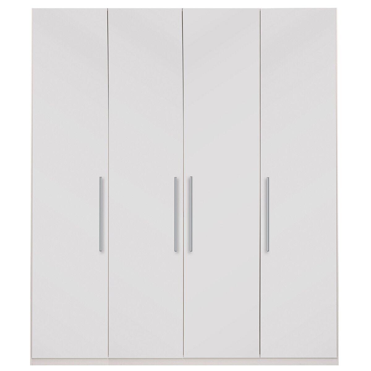 Optimeo Armoire Color: White Matte