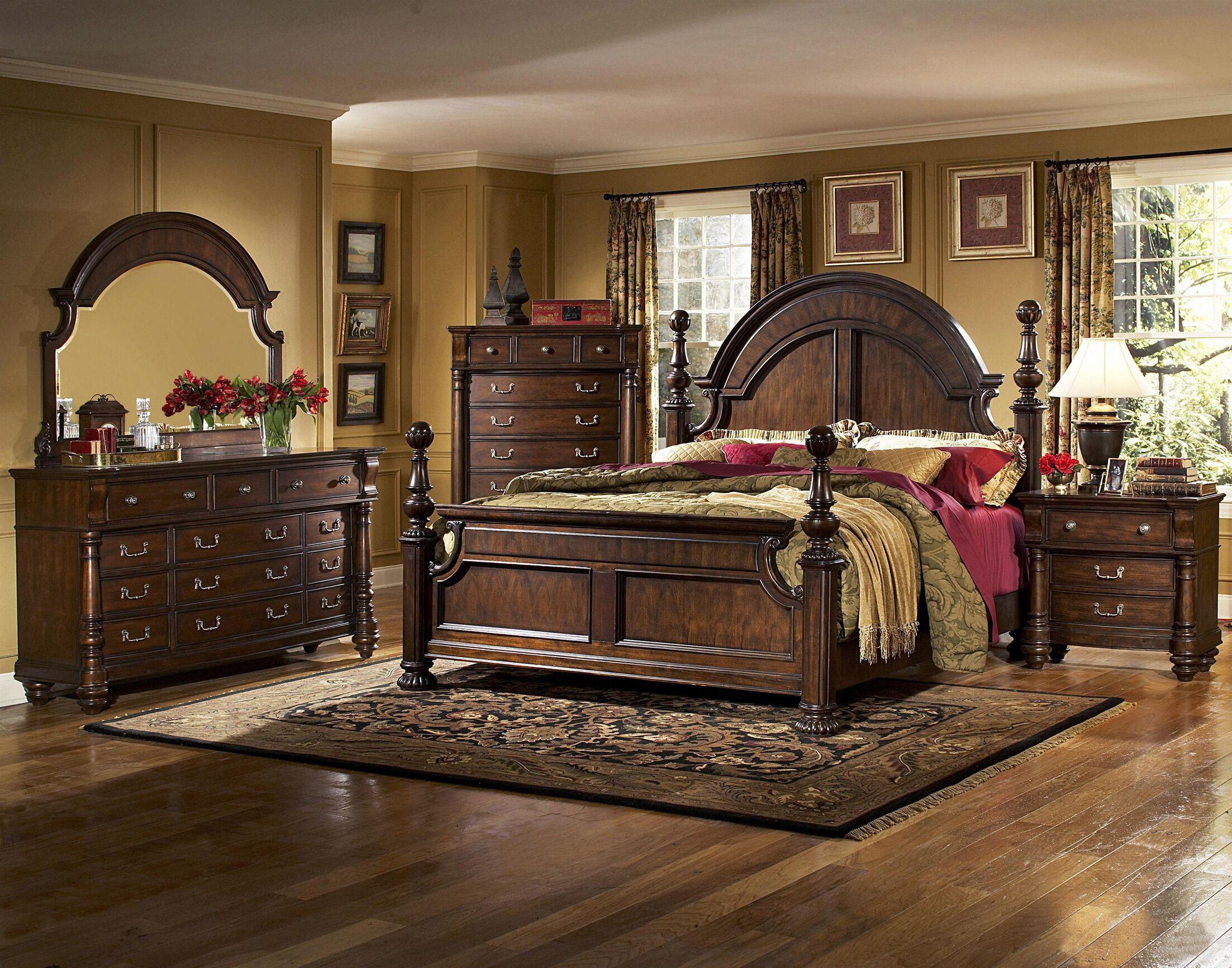 Bainbridge Panel Configurable Bedroom Set