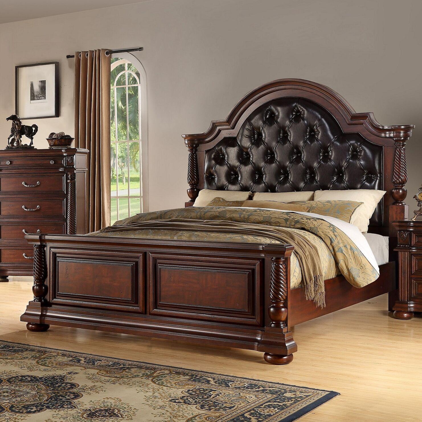 Casa del Mar Panel Bed Size: King
