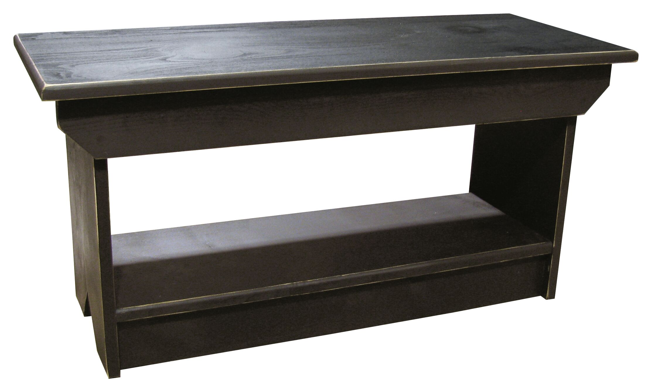 Irving Coffee Table/Bench Color: Black