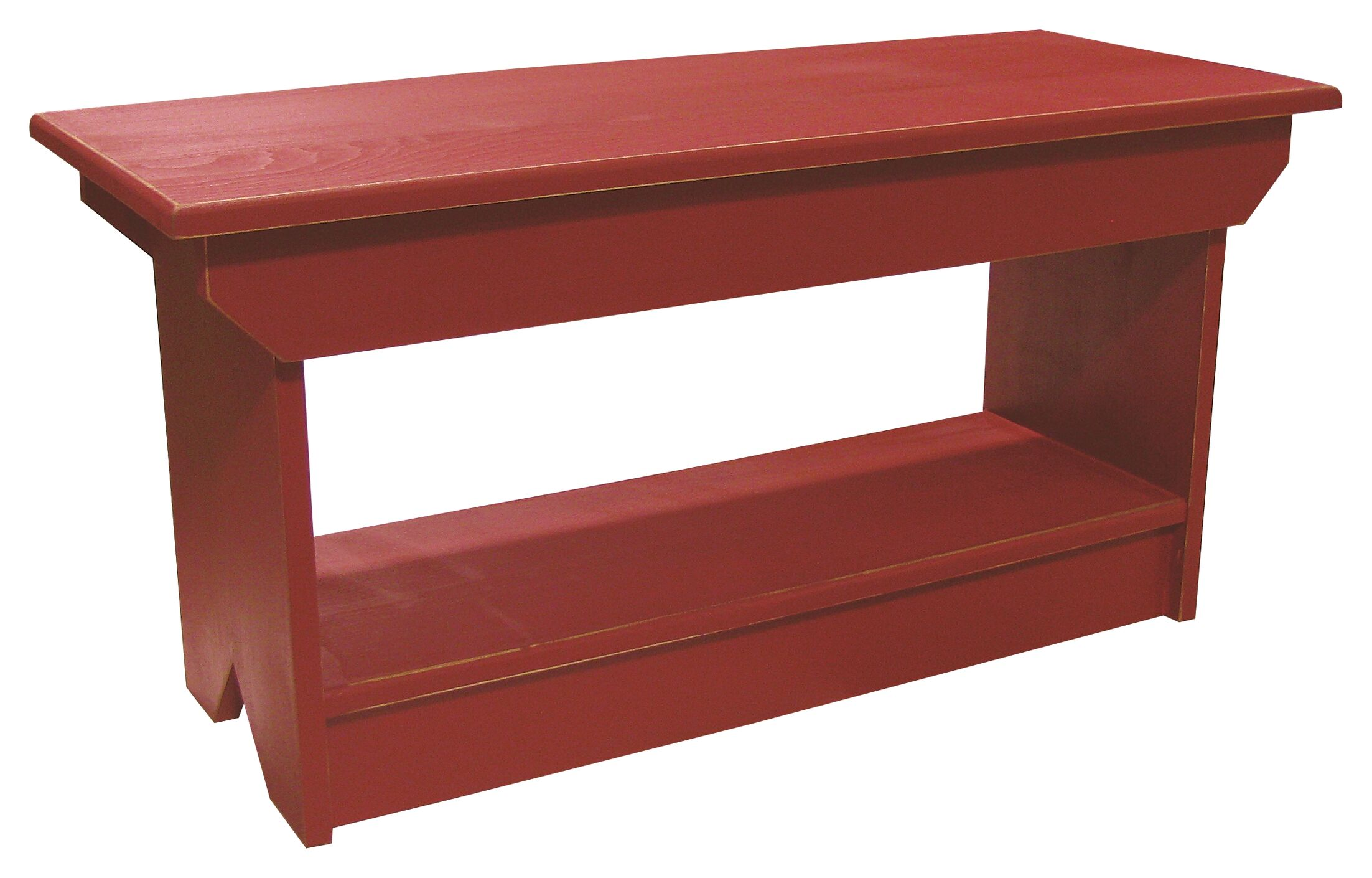 Irving Coffee Table/Bench Color: Old Red