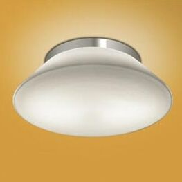 Radiant 2-Light Flush Mount Bulb Type: Fluorescent