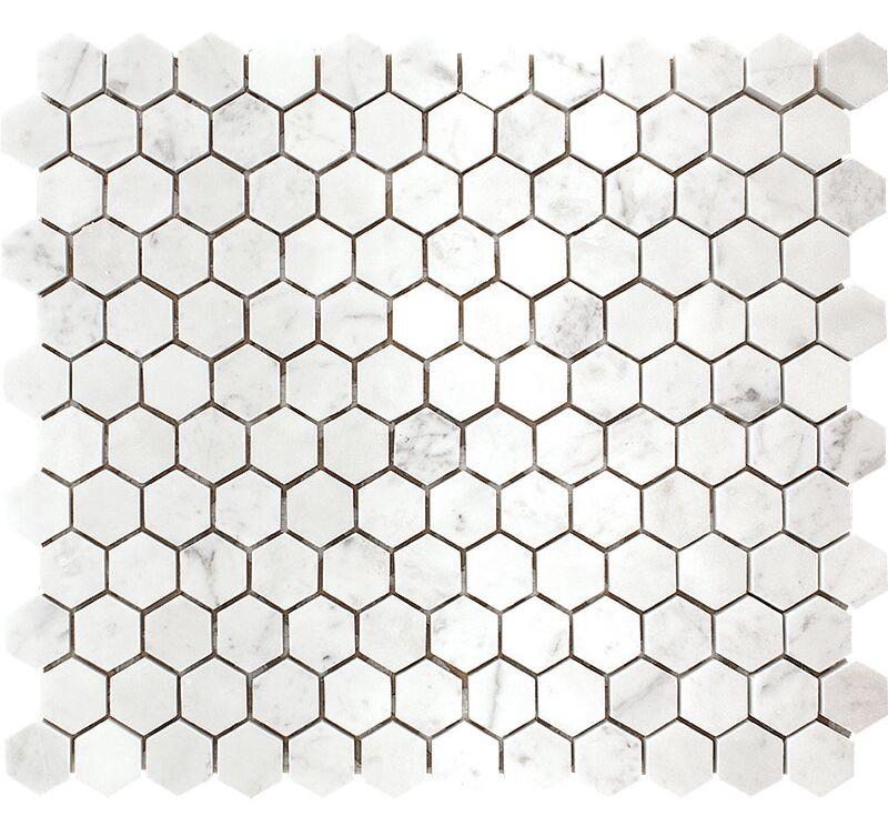 Carrara Hexagon 1