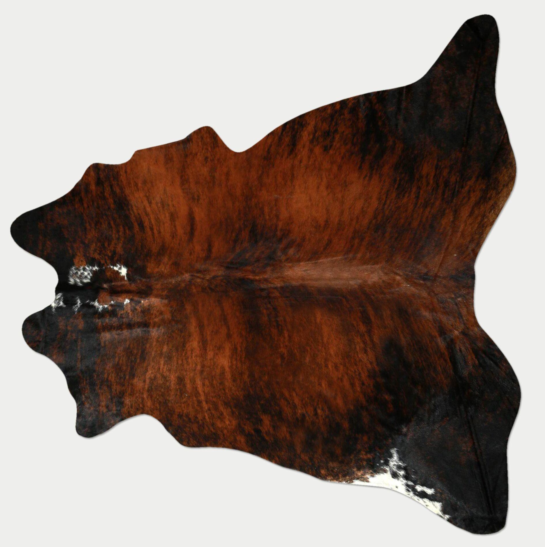 Natural Exotic 10 Cowhide Brown Area Rug