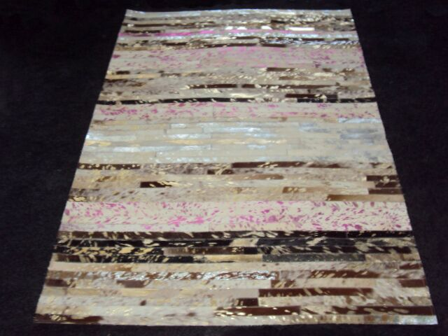 Patchwork Stripe Neapolitan Area Rug Rug Size: Rectangle 3' x 5'