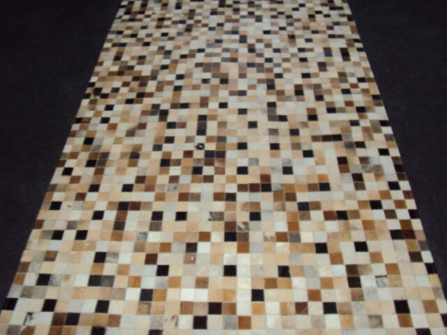 Patchwork Static IIII Brown Area Rug Rug Size: Square 6'