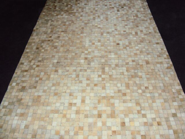 Patchwork Static Neutral Area Rug Rug Size: Rectangle 4' x 6'