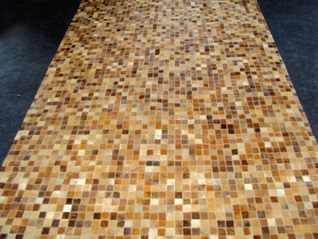 Patchwork Sandstone Area Rug Rug Size: Rectangle 4' x 6'