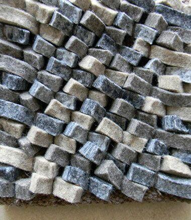 Cobblestone Coal/Silver Area Rug Rug Size: Round 5'