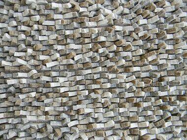 Cobblestone Gray Area Rug Rug Size: Square 8'