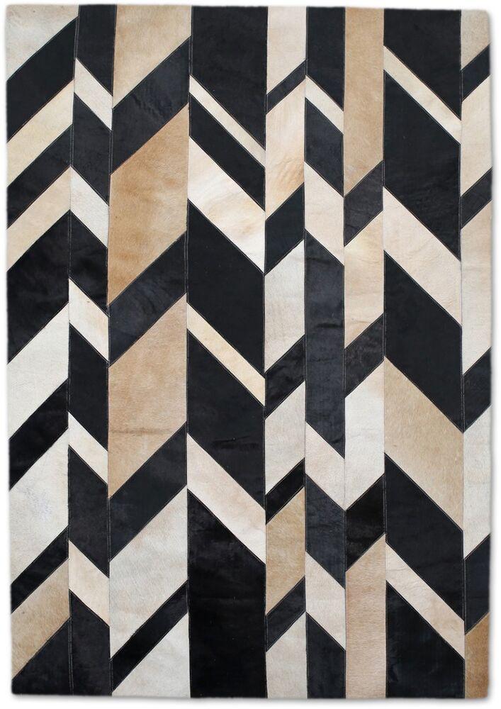 Beige/Black Area Rug Rug Size: Rectangle 5' x 8'