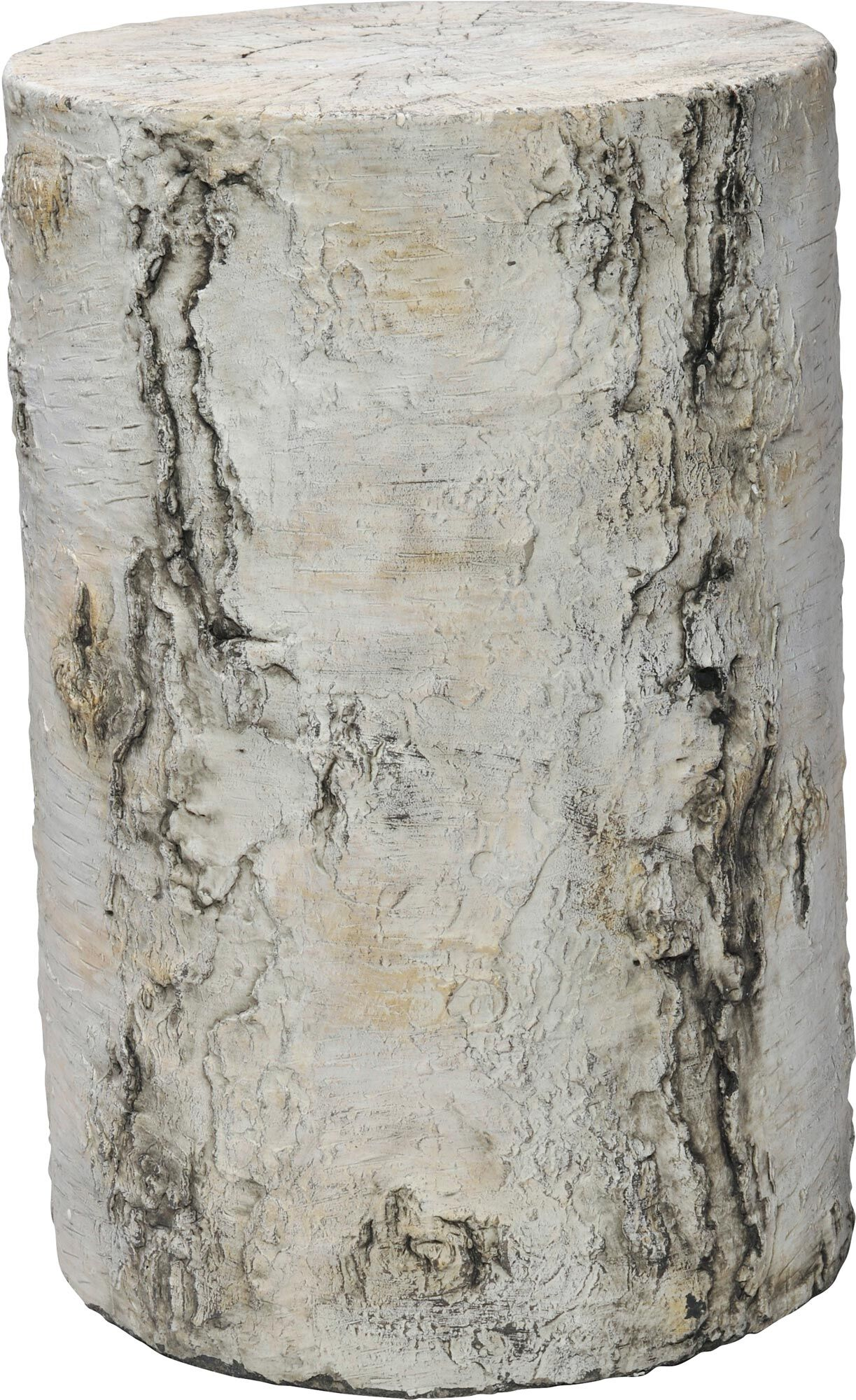 Grotto Side Table Color: Birch, Size: 17