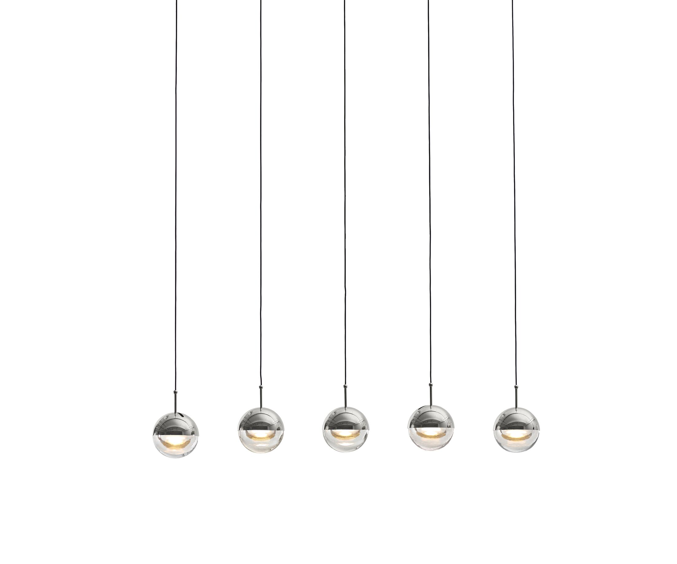 Dora 5-Light Kitchen Island Pendant