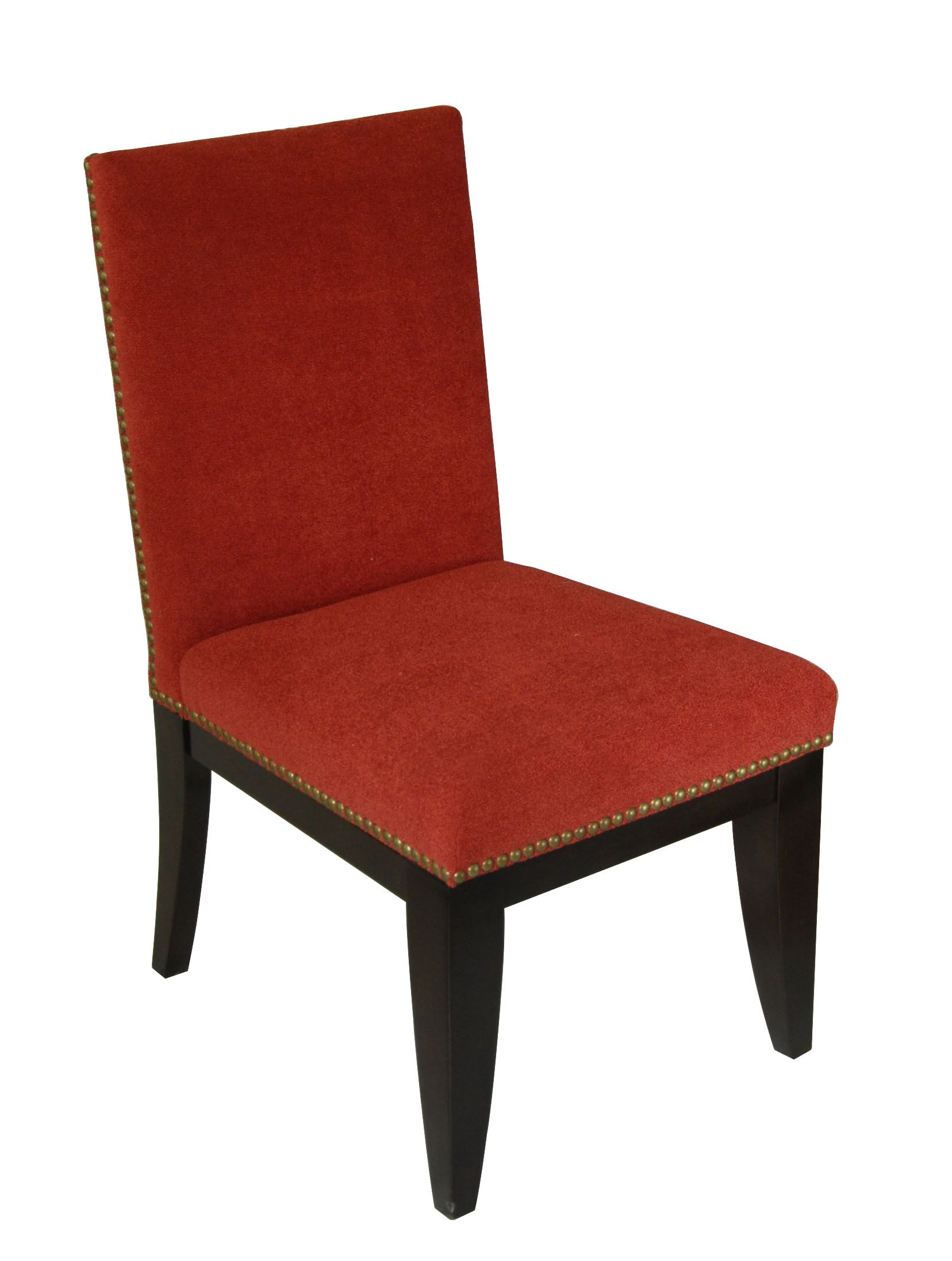 Montgomery Parsons Chair Upholstery Color: Tomato