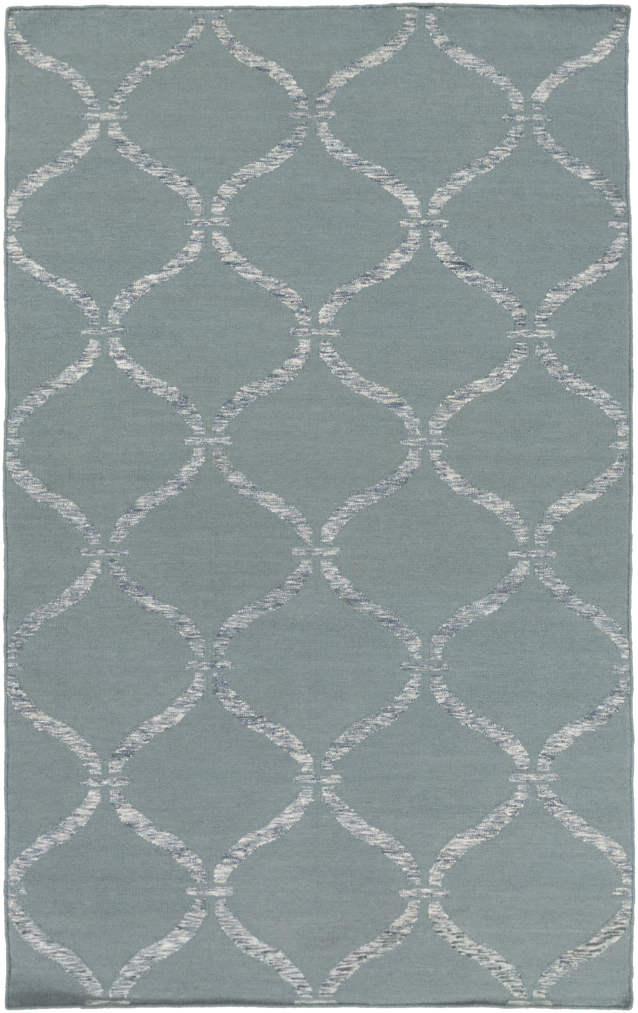 Landing Hand Woven Gray Area Rug Rug Size: Rectangle 4' x 6'
