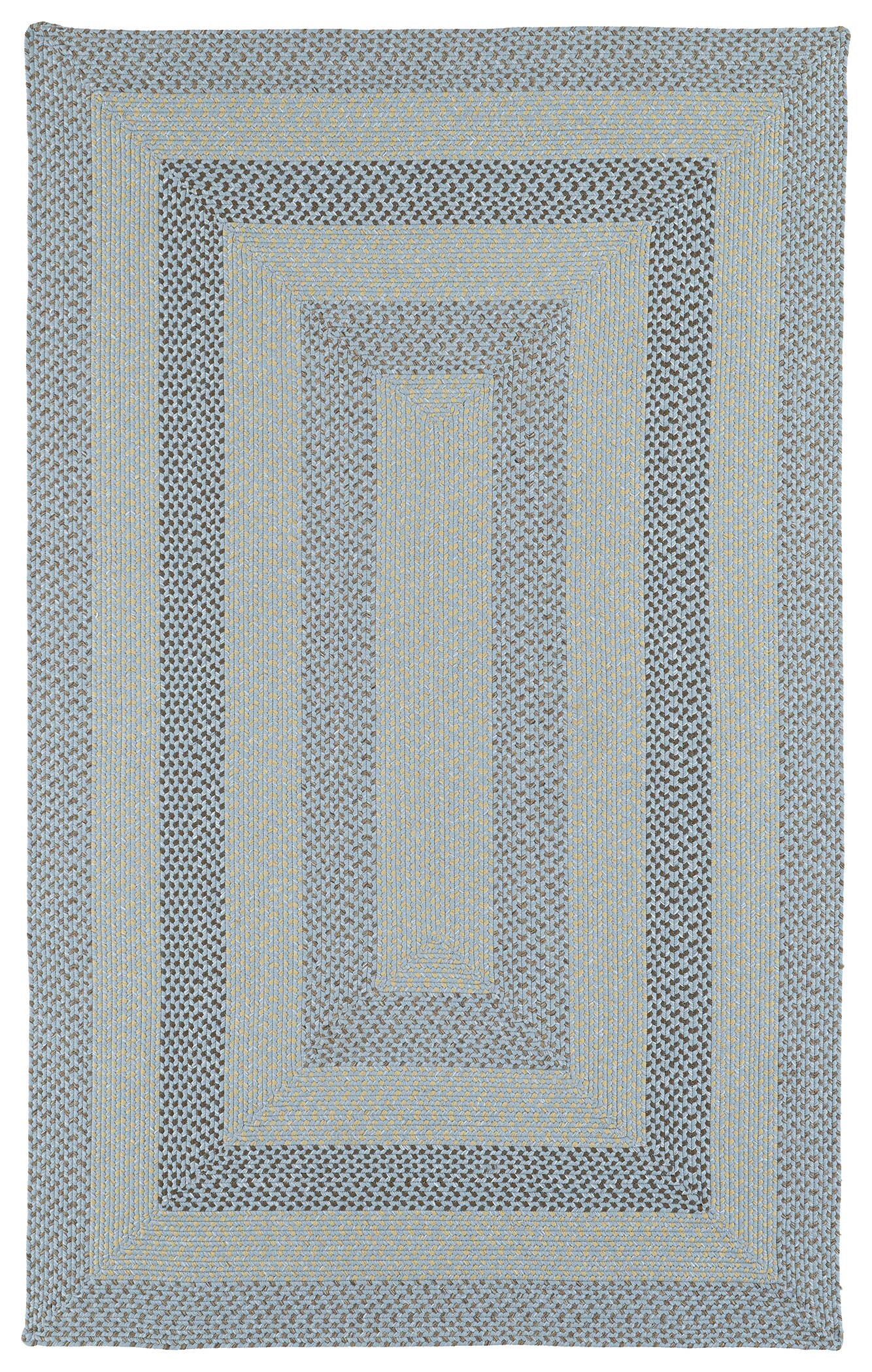 Partridge Hand-Woven Blue Indoor/Outdoor Area Rug Rug Size: Rectangle 9' x 12'