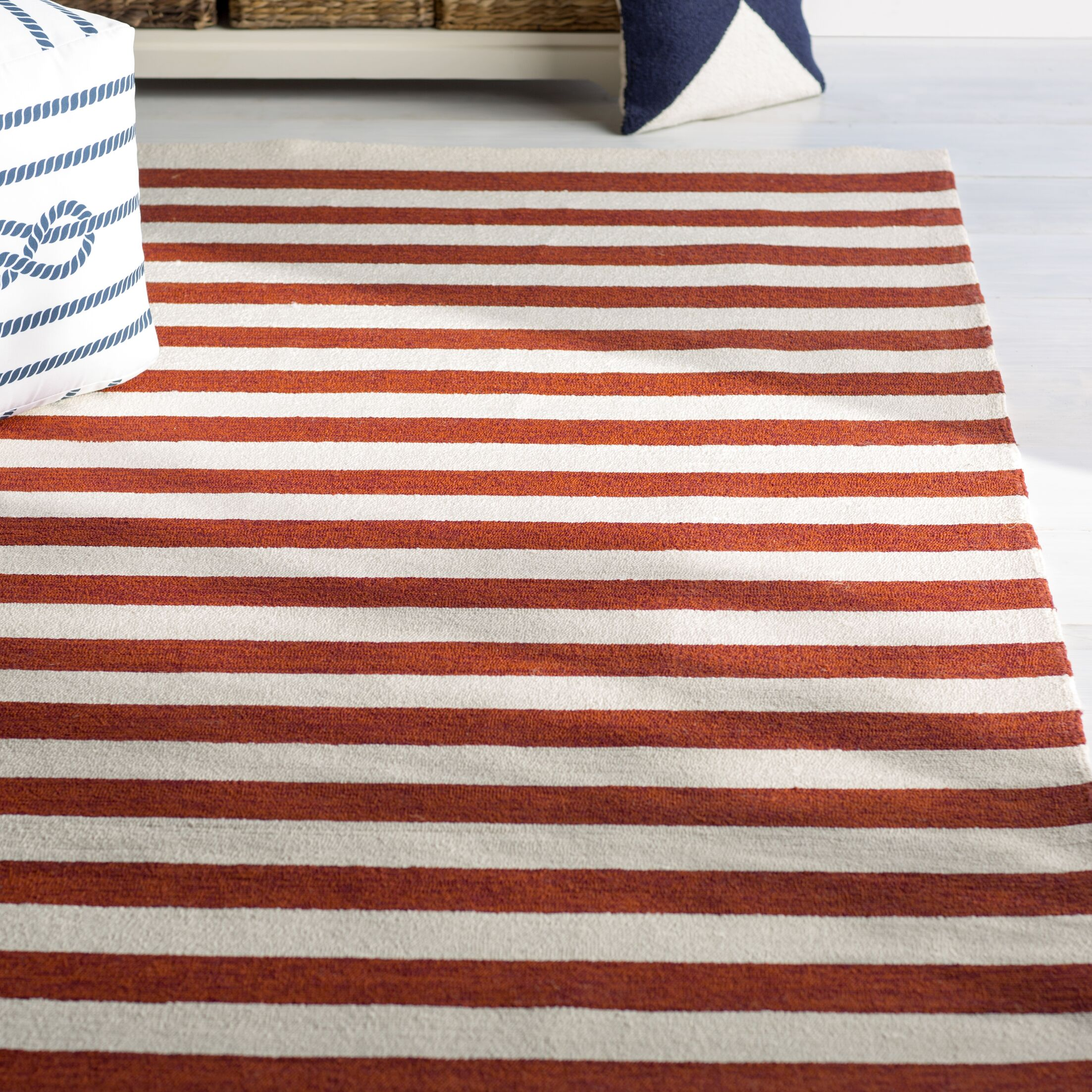 Suffield Red Indoor/Outdoor Area Rug Rug Size: Rectangle 9' x 12'