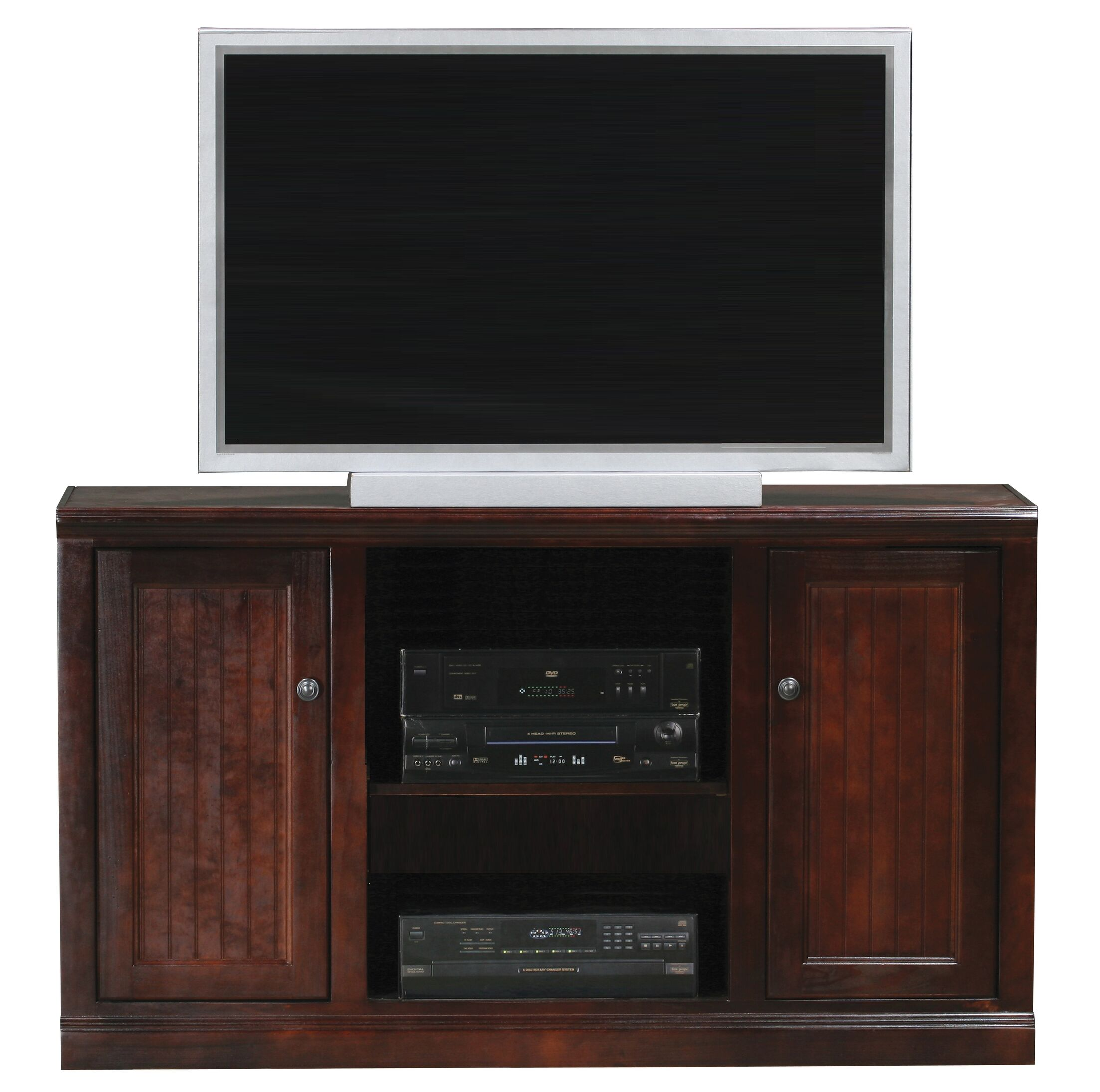 Didier Birchwood TV Stand Color: Tempting Turquoise