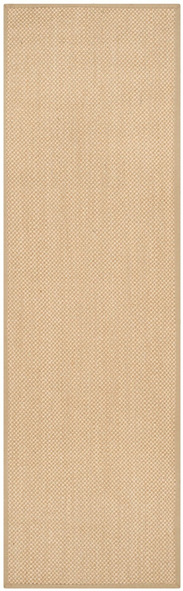 Benevides Maize / Linen Area Rug Rug Size: Runner 2'6