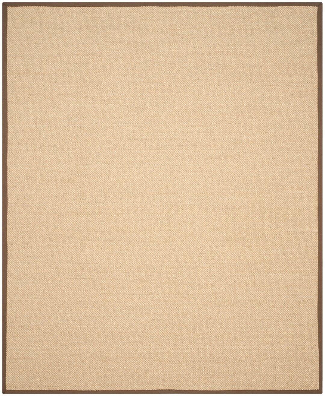 Hillsborough Maize / Brown Area Rug Rug Size: Rectangle 10' x 14'