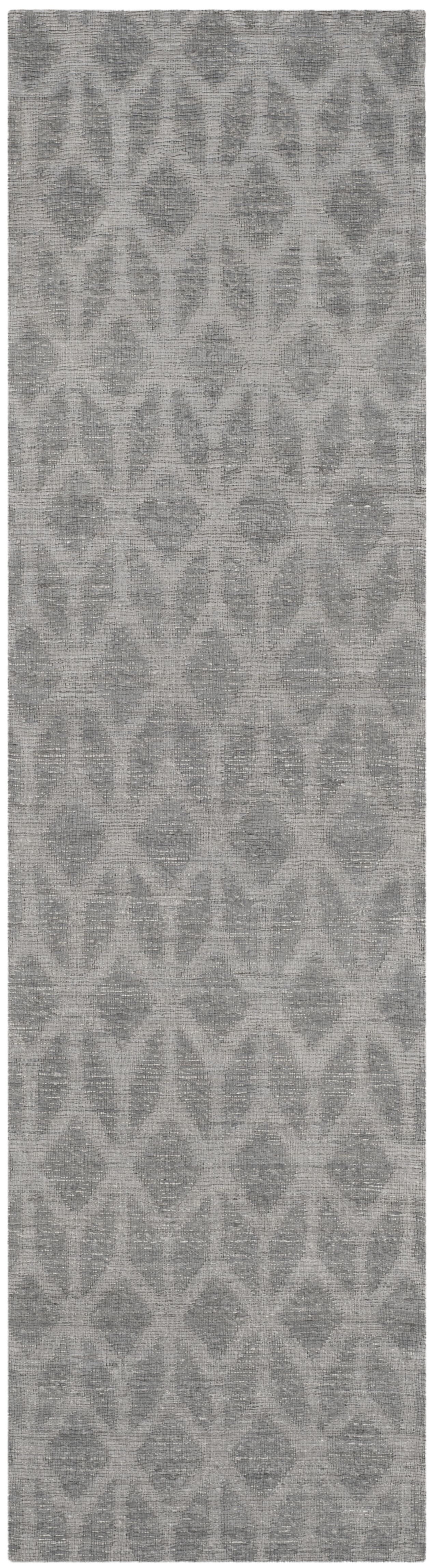 Gilchrist Hand-Woven Grey/Gold Area Rug Rug Size: Runner 2'3