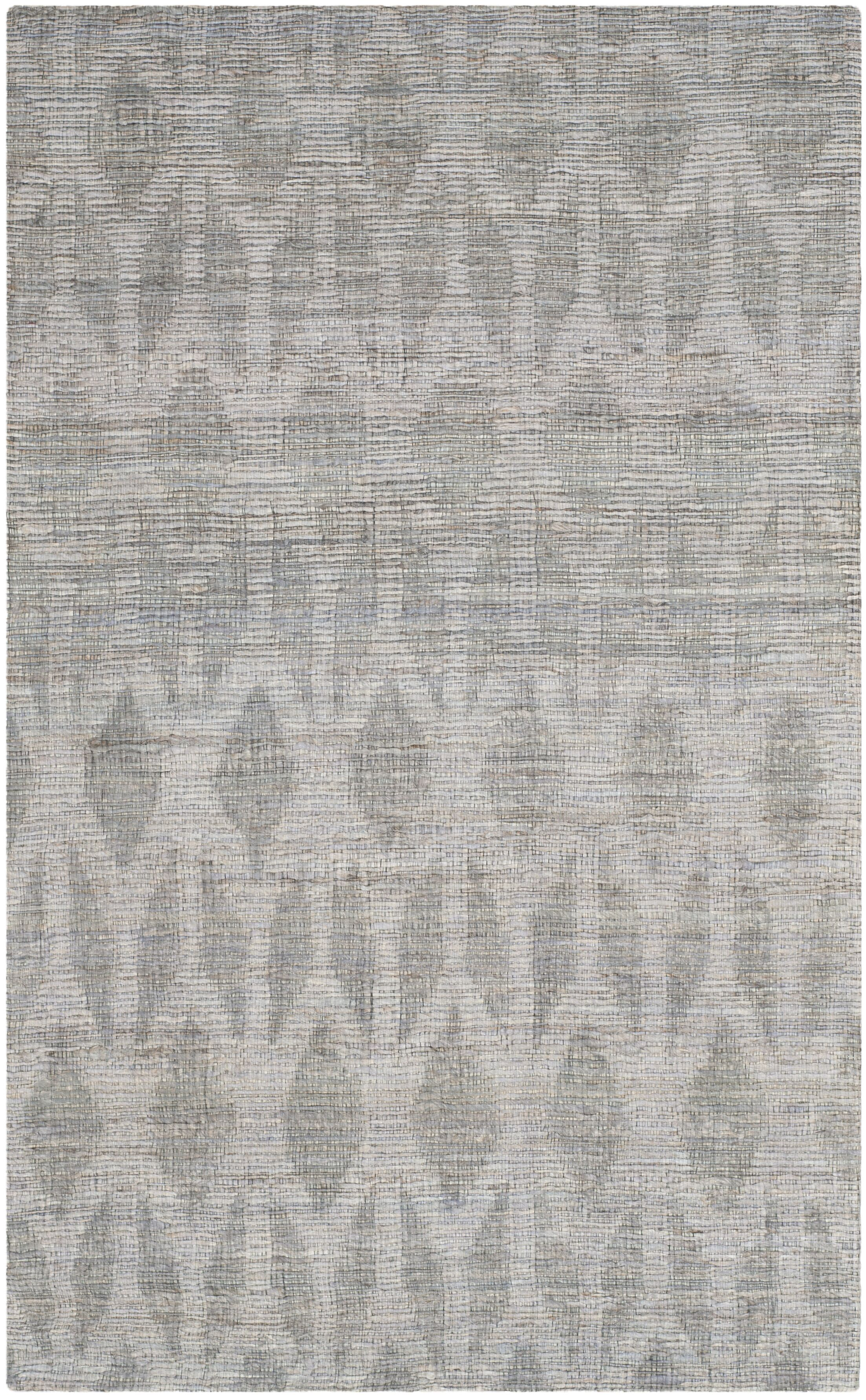 Gilchrist Hand-Woven Grey/Gold Area Rug Rug Size: Rectangle 6' x 9'