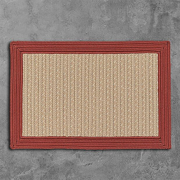 Dartmouth Hand-Woven Beige Area Rug Rug Size: 3' x 5'