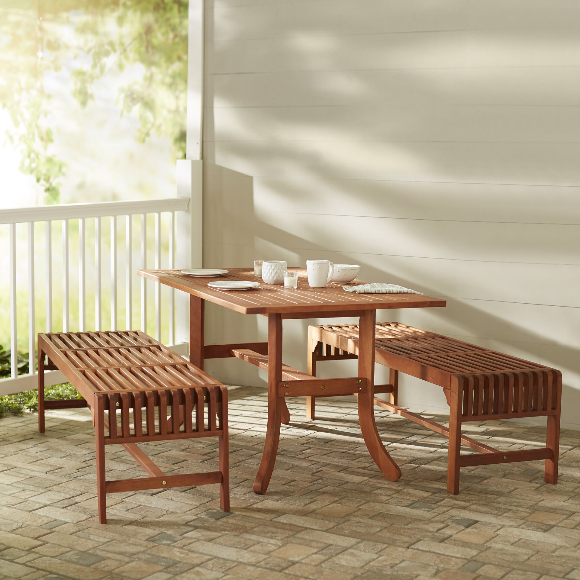 Monterry 3 Piece Dining Set