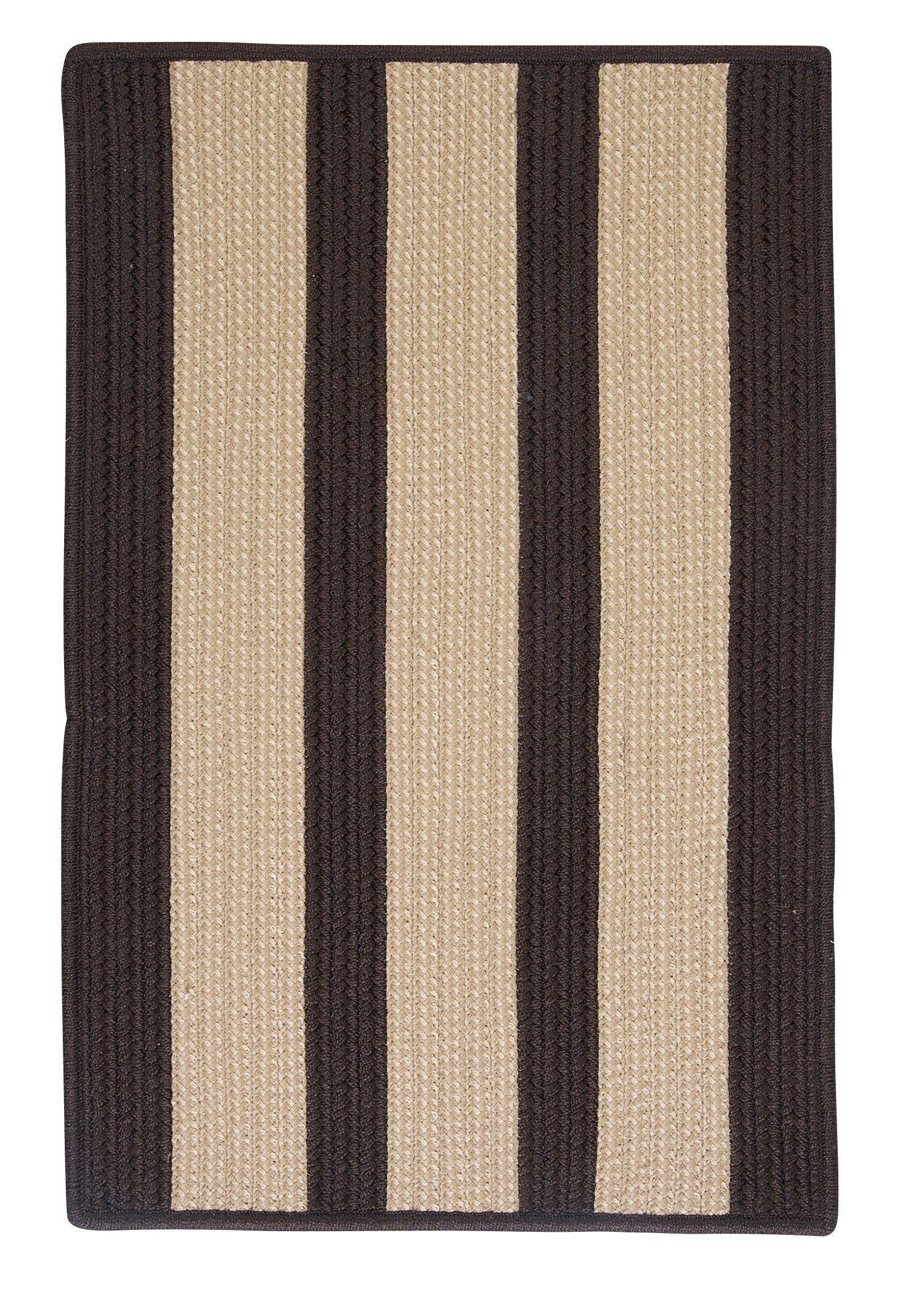 Seal Harbor Brown Indoor/Outdoor Area Rug Rug Size: Rectangle 4' x 6'