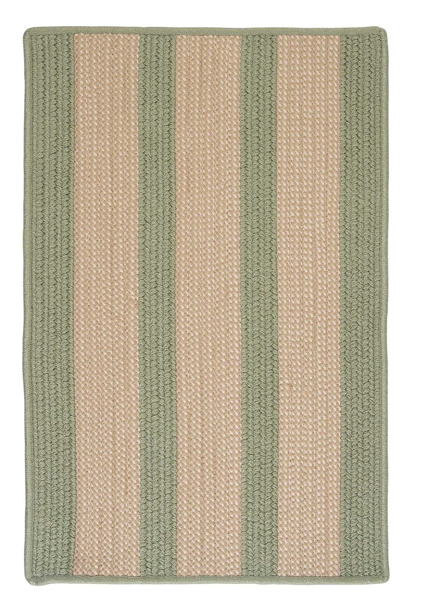 Seal Harbor Olive Indoor/Outdoor Area Rug Rug Size: Rectangle 3' x 5'