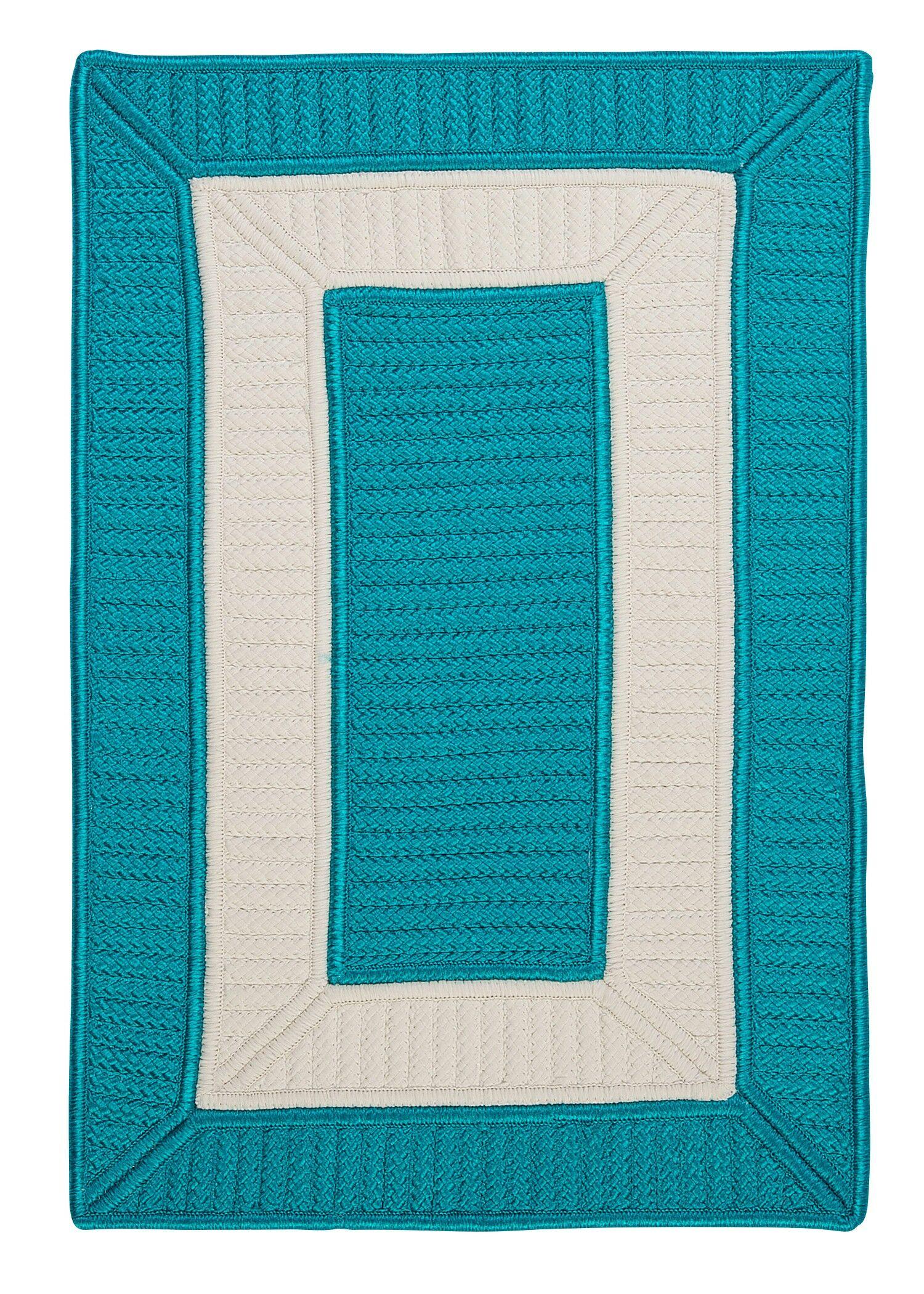 Kenton Blue Indoor/Outdoor Area Rug Rug Size: Runner 2' x 8'